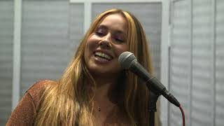 Haley Reinhart performs with her dad at Chess Records in Chicago