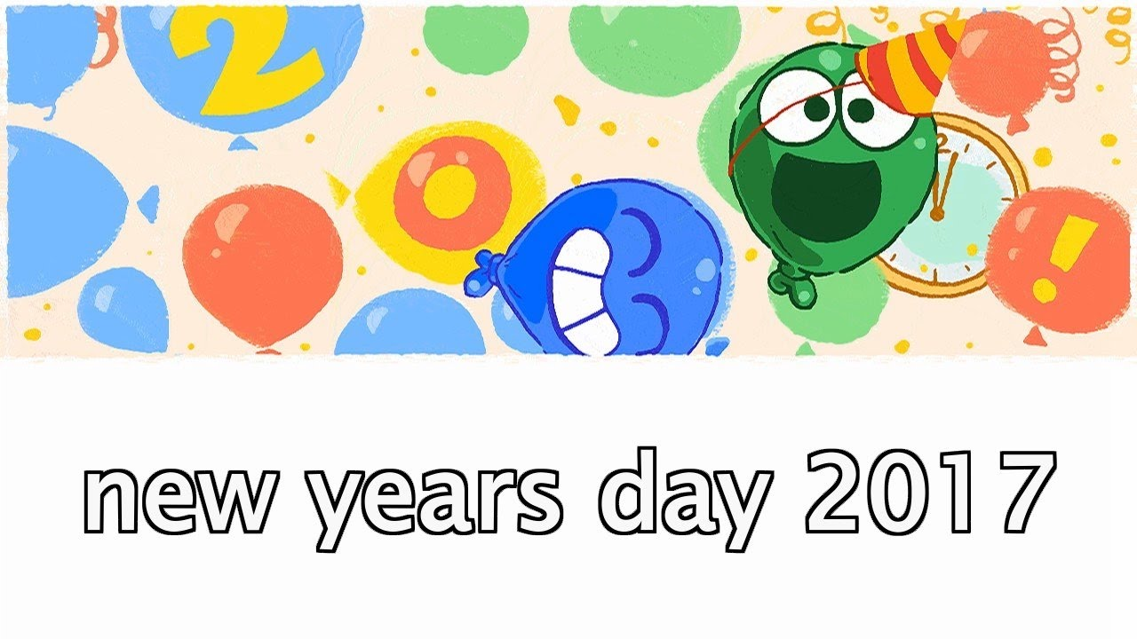 new years day 2017 happy new year google doodle ao nuevo 2017