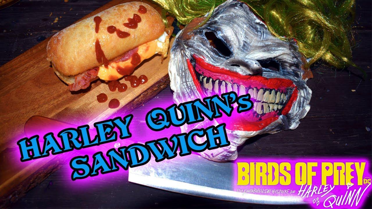 Harley Quinn S Perfect Egg Sandwich Birds Of Prey Recipe Youtube