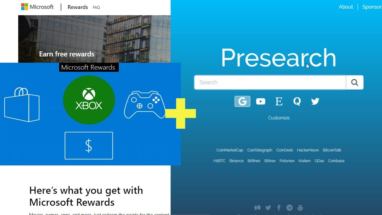 Earn Money Faster with this Microsoft Rewards and Presearch Hack