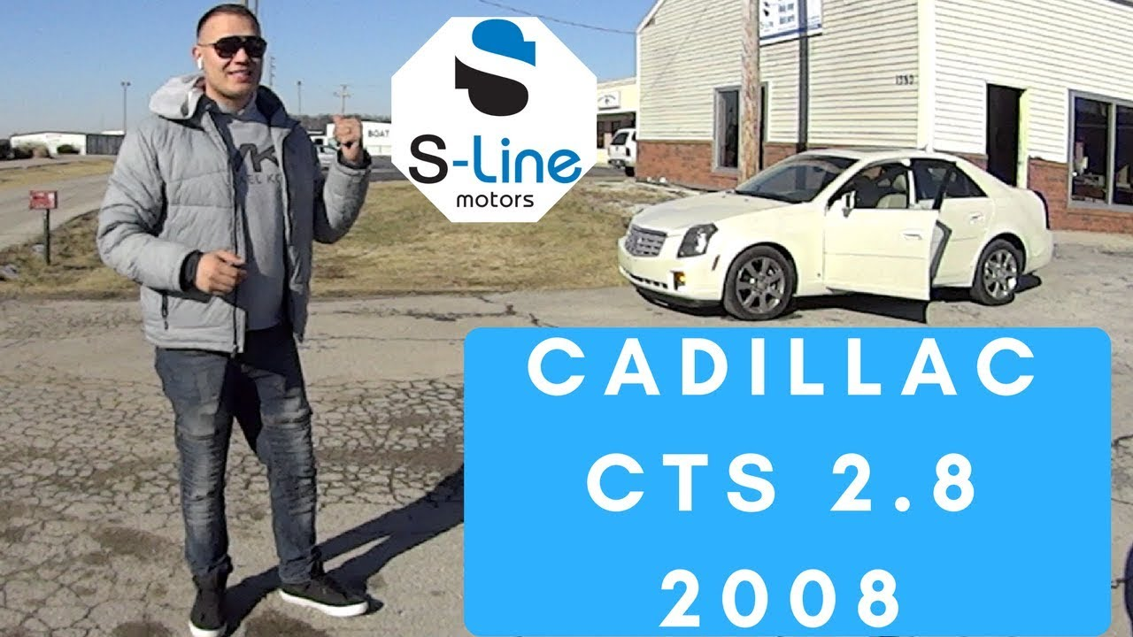 Обзор | тест драйв | cadillac cts 2008 | с акциона | цена в США