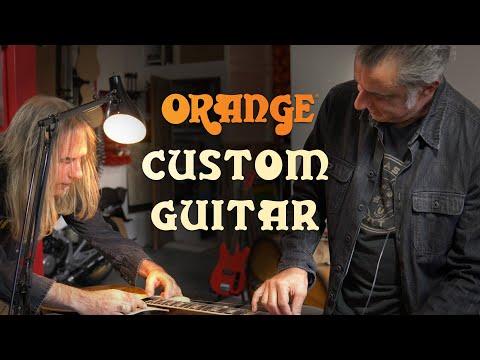 The Orange Custom Guitar