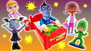 Vampirina Don't Wake Daddy Boris Game w/ Doc McStuffins, Chase, Bridget & Gekko to Learn Colors!