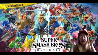 Sponsor Saturdays! Sponsors vote on what we play today! [Super Smash Bros. Ultimate] | TheYellowKazo