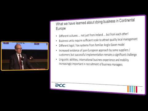 Tommy Breen - CEO of DCC plc