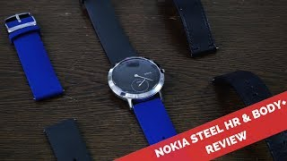 A month later another look at the Nokia Body + & Steel HR Nokia Hea...