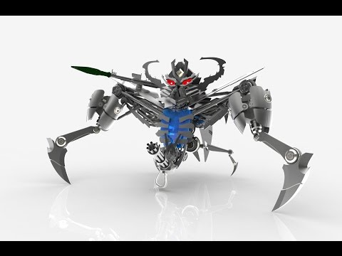 Nokia bot - Transformers 2009 ( Solidworks model )