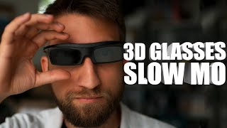 How a 3D TV works in Super Slow Motion - The Slow Mo Guys