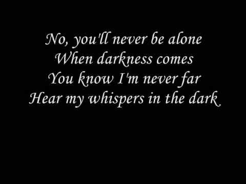 Skillet  whispers in the dark with lyrics