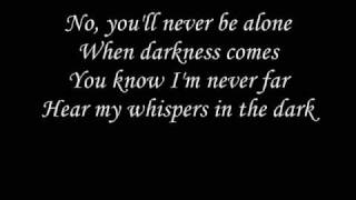 Skillet - whispers in the dark with lyrics thumbnail