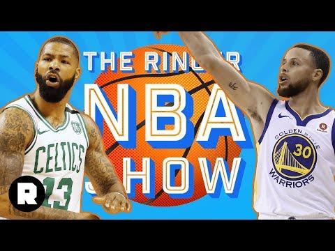 Celtics Pummel Cavs, Warriors-Rockets Is Here, and Second-Round Exit Interviews | Heat Check