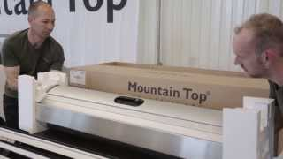 Mountain Top Roll cover fitting on Ford Wildtrak