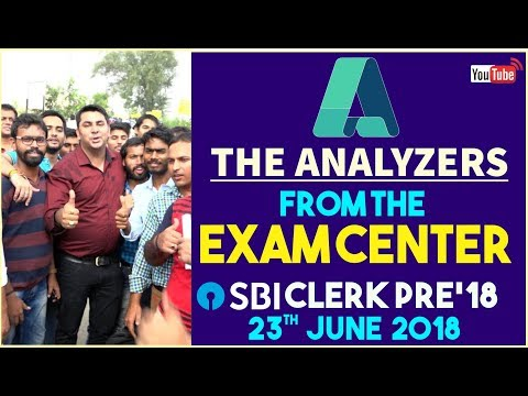 The Analysers: Right From The Exam Centre