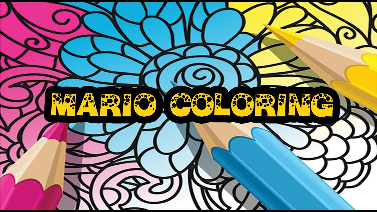 Mario Kart Coloring Pages - YouTube