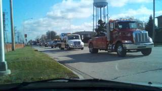 Tow Trucks For Tots into Toyota Park, 2010