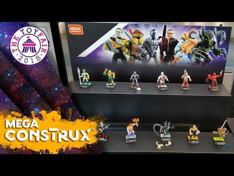 Toy Fair 2018   Héroes Series 3 & 4   Mega Construx (Nuevas imágenes)