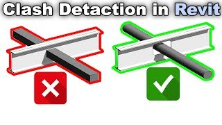 Clash Detection in Revit Tutorial ( Interference check )