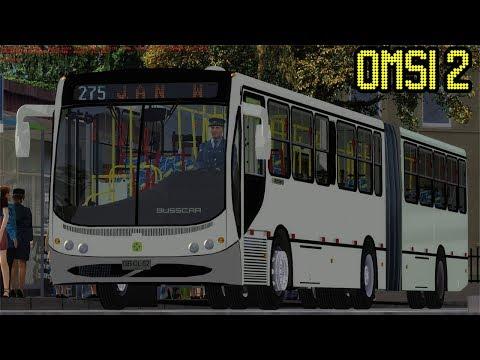 OMSI 2 #17# - Vorvão B12M Busscar Urbanuss Pluss Articulado - Fictício Szczecin!