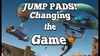 Fortnite Patch 1.9 | Jump Pad Update | Redeploy your Glider