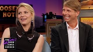 whats it like to party w claire danes jack mcbrayer