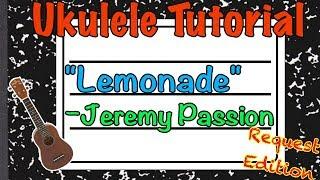 Lemonade Ukulele Tutorial - Jeremy Passion - Teach me Tuesday