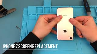 iPhone 7 screen replaced in 13 minutes *walkthrough