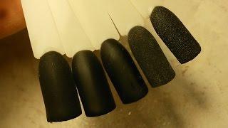как сделать матовые гелевые ногти
