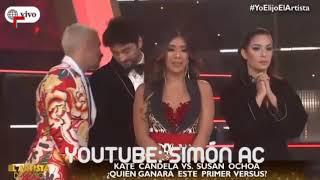 SUSAN OCHOA VS KATE CANDELA - COMPLETO- Y, Si fuera ella - El Artista del Ano 18052019