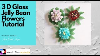 Making Glass Jelly Bean Flowers - silicone