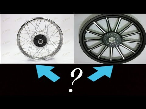 Should we use alloy wheels in Royal enfield? Watch this!!