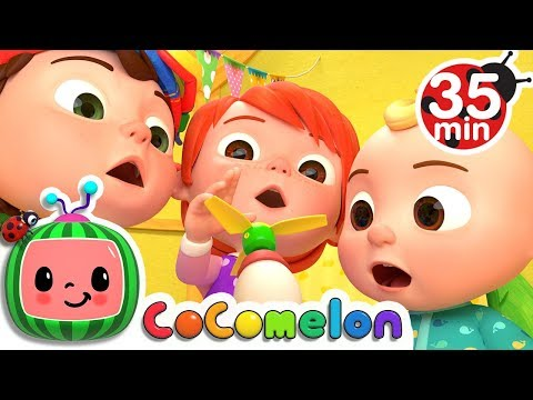 Humpty Dumpty | +More Nursery Rhymes & Kids Songs - Cocomelon (ABCkidTV)