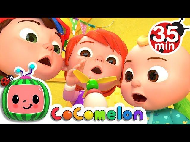 Humpty Dumpty | +More Nursery Rhymes & Kids Songs - Cocomelon (ABCkidTV)