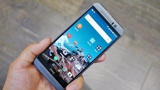 Обзор HTC One M9: распаковка и экран