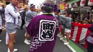 29年  浦和祭り  神輿パレード  「大門睦會」 迫力満点です。