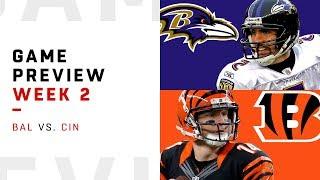 Baltimore Ravens vs. Cincinnati Bengals | Week 2 Game Preview | NFL Playbook