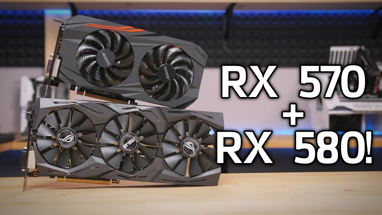 Here's Some Radeon RX 580 & 570 Launch Benchmarks
