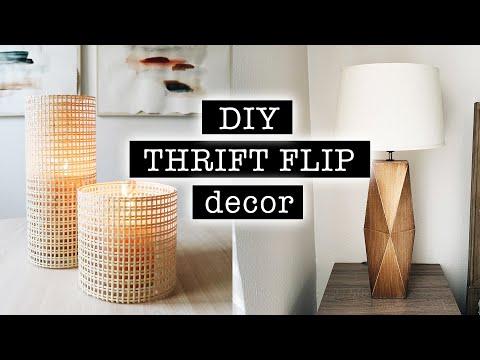 DIY THRIFT FLIP DECOR / Extreme Bedroom Makeover PART 1 / DECOR on a BUDGET