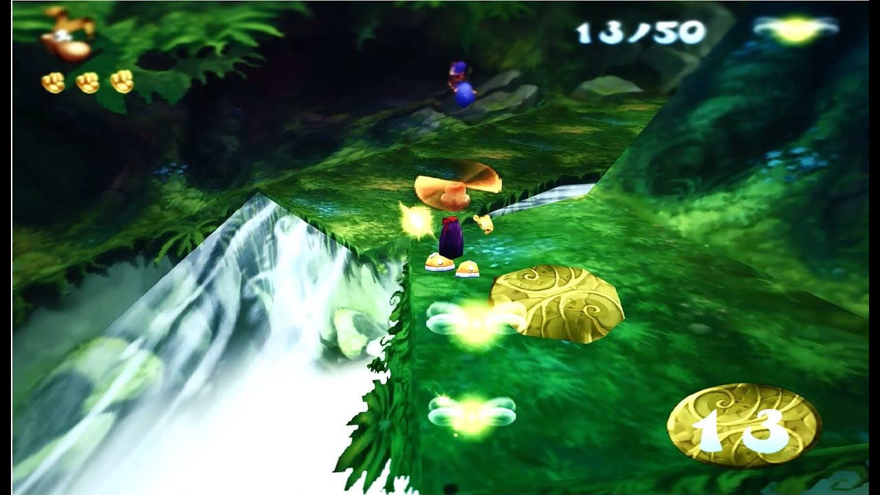 Rayman 2 HD Graphics Mod Reshade / SweetFX / 60 / FPS increase hack