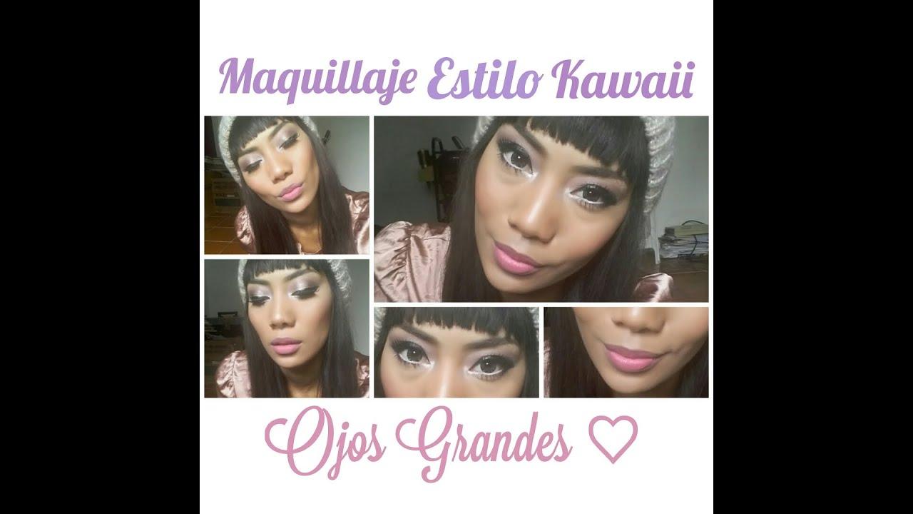 estilo kawaii maquillaje