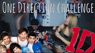 One Direction Challenge | ft. Nick Bean