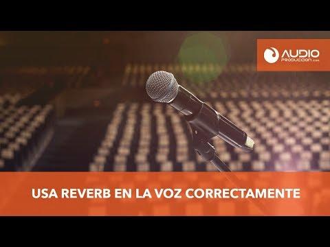 Como Usar Reverb En La Voz Correctamente