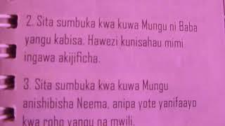 Video SITASUMBUKA KWA KUWA MUNGU (2nd VERSION) download MP3, 3GP, MP4, WEBM, AVI, FLV Juni 2018