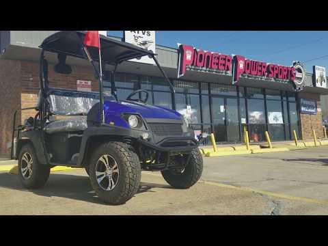 Cazador 200cc 4 seater utv | golf kart | test drive | review | overview