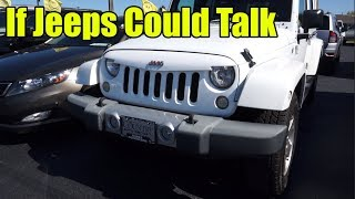 If Jeeps Could Talk