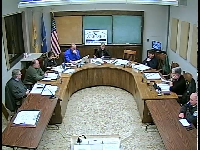 03 05 19 Wabasha City Council Meeting