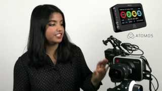 Using Atomos Ninja 2 with Blackmagic Cinema Camera and Mitra 3D Mic Pro