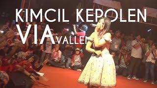 Gambar cover VIA VALLEN - Kimcil Kepolen | HIGH QUALITY (Audio & Video) | By EVIO MULTIMEDIA