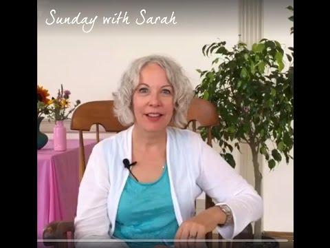 Sunday with Sarah: LIVE!