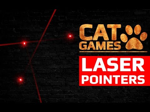 CAT GAMES - LASER POINTERS (VIDEOS FOR CATS TO WATCH)