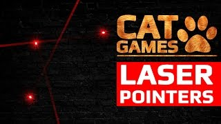 CAT GAMES - LASER POINTERS (ENTERTAINMENT VIDEOS FOR CATS TO WATCH)